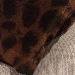 Zara Skirts - Zara leopard mini skirt